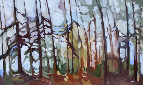 Boreal Path 2 by Holly Ann Friesen