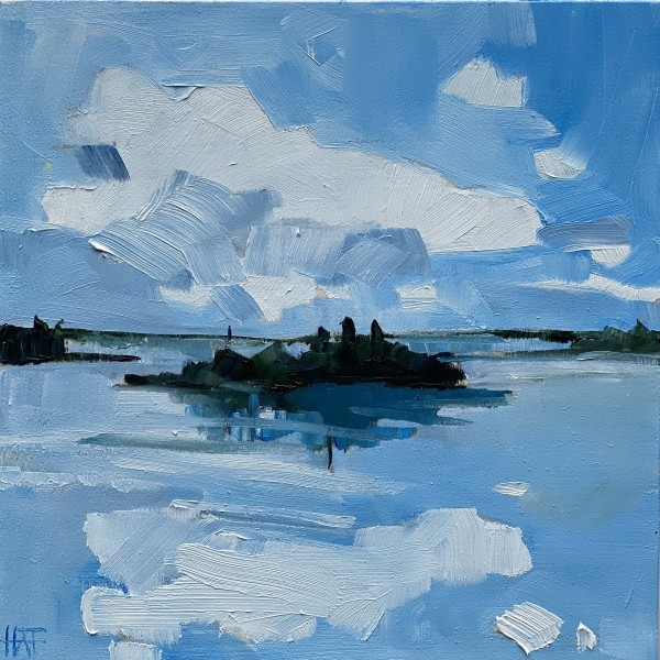 Bright Blue 2 by Holly Ann Friesen