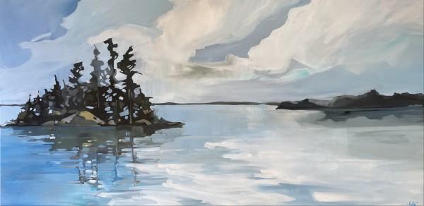 Lake layers 2 by Holly Ann Friesen