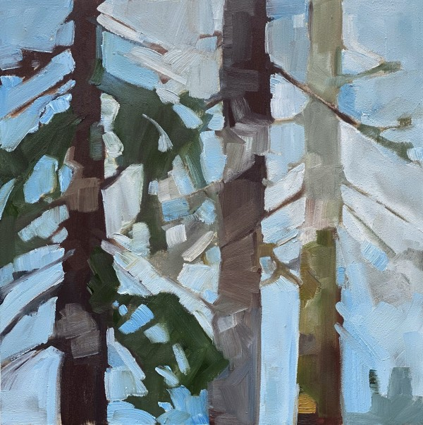 Soft Forest 1 by Holly Ann Friesen