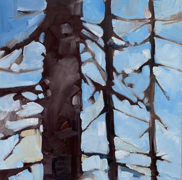 Soft Forest 2 by Holly Ann Friesen