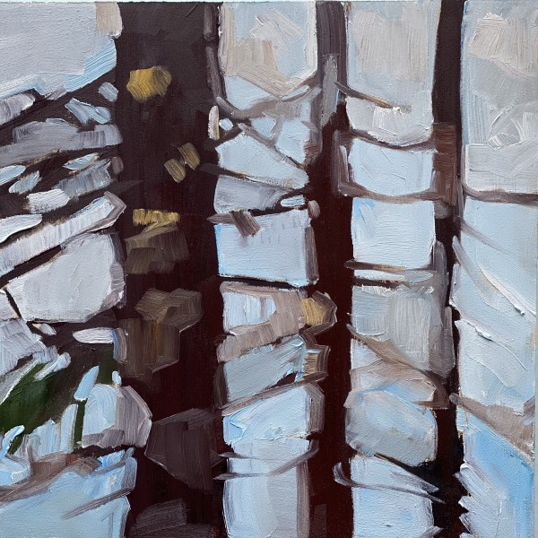 Soft Forest 3 by Holly Ann Friesen