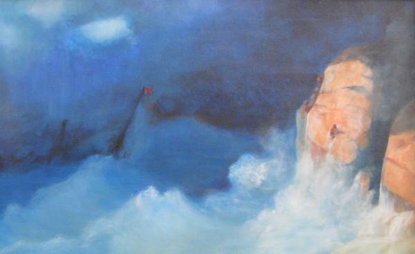 Aivazovsky Shipwreck by Jill Cooper