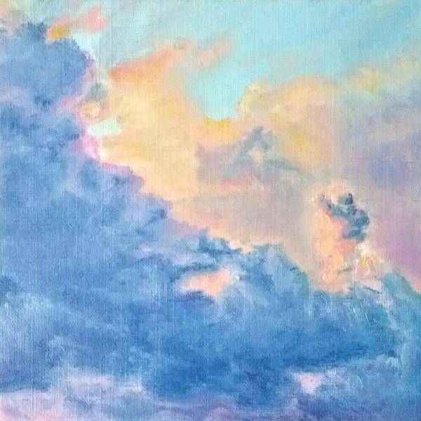 Apricot Cumulus by Jill Cooper