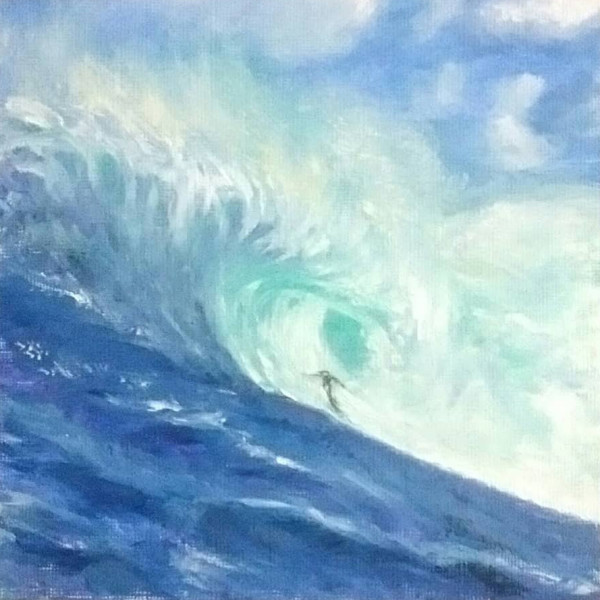 Captured Wave by Jill Cooper