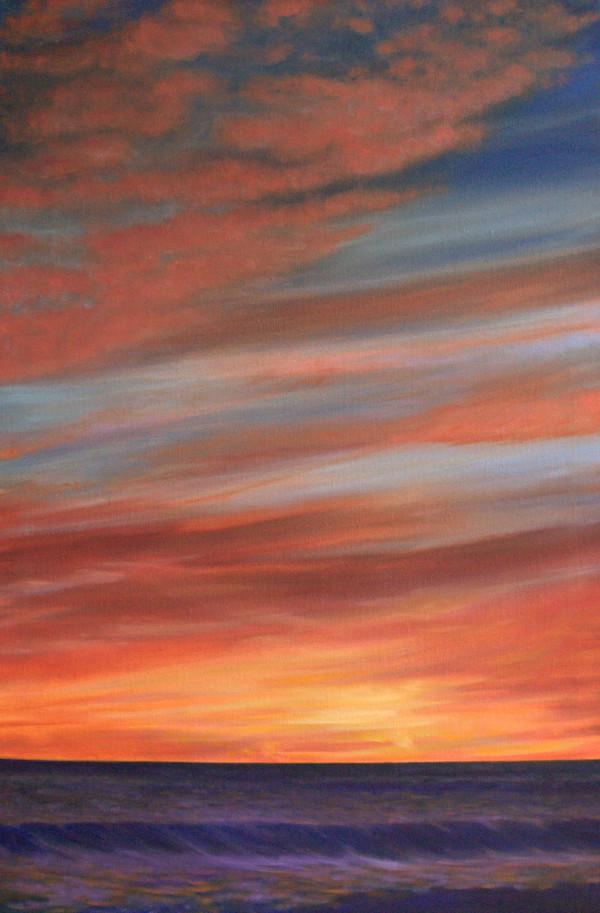 Coastal Twilight by Jill Cooper