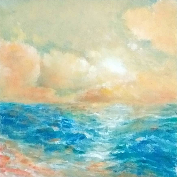 Coral Morning by Jill Cooper