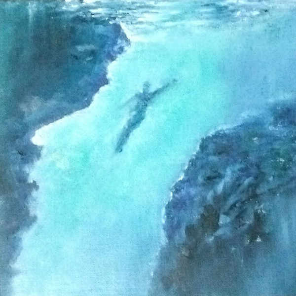 Diving Up by Jill Cooper