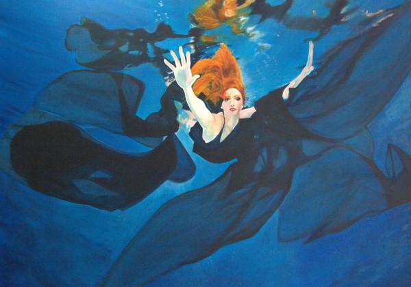 Escape Under Blue by Jill Cooper