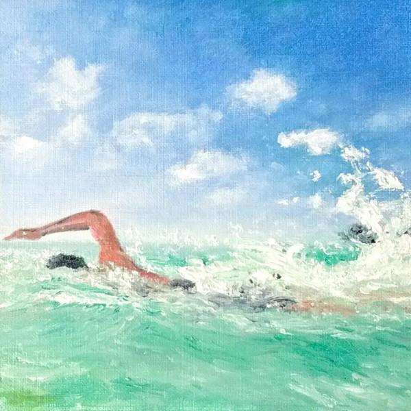 Lagoon Laps by Jill Cooper