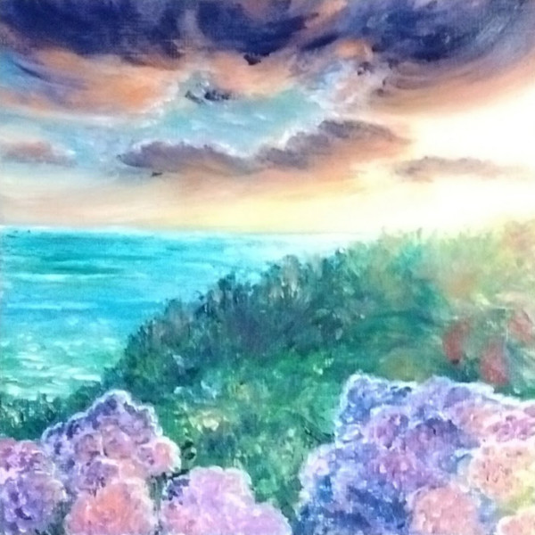 Lilac Sunset by Jill Cooper