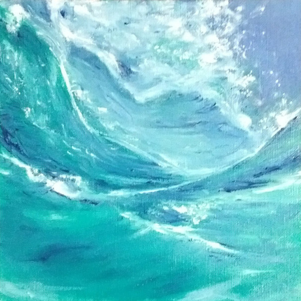 Playful Wave by Jill Cooper
