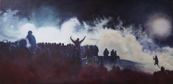 Seeing Through the Smoke - Despite Cannons by Jill Cooper
