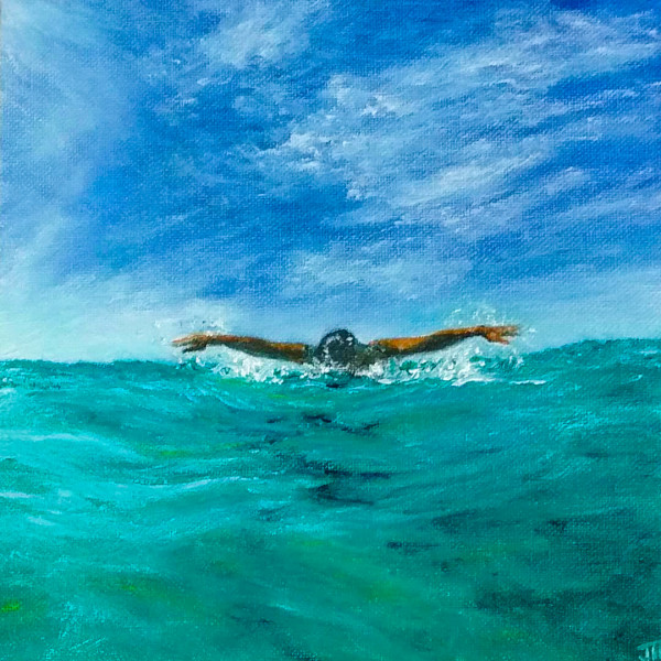 Second at the Surface II by Jill Cooper