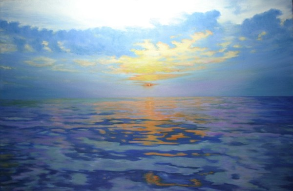 Cold Sunrise by Jill Cooper