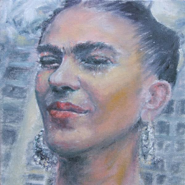 Frida Kahlo by Jill Cooper