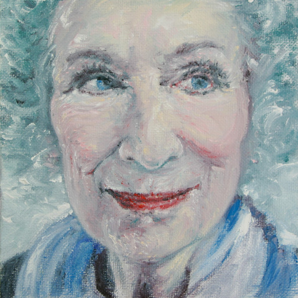 Margaret Atwood by Jill Cooper