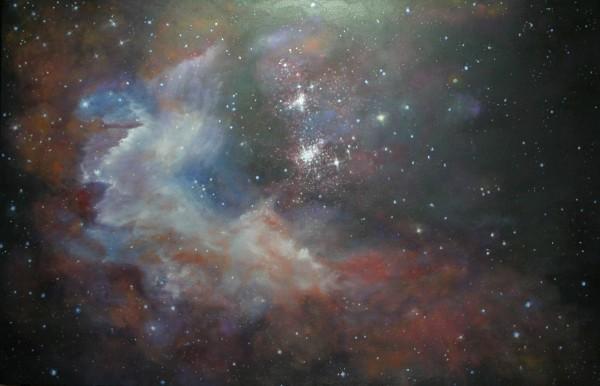 Celestial Swath by Jill Cooper