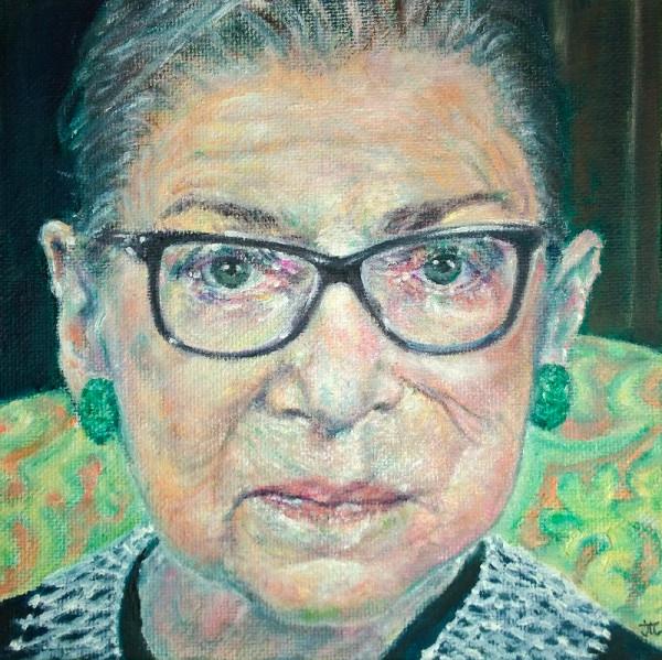 Ruth Bader Ginsburg by Jill Cooper