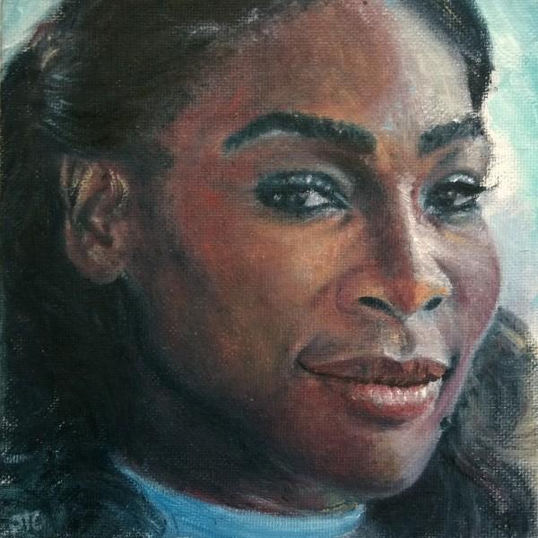 Serena Williams by Jill Cooper