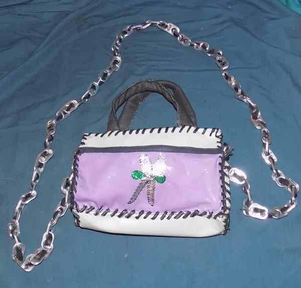 little leather Handbag by Annie Rich