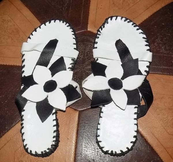 handmade Flip Flops by Annie Rich