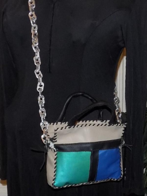 cute little Leather Handbag by Annie Rich