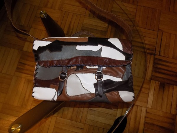 Harry's Bag - leather Laptopbag by Annie Rich