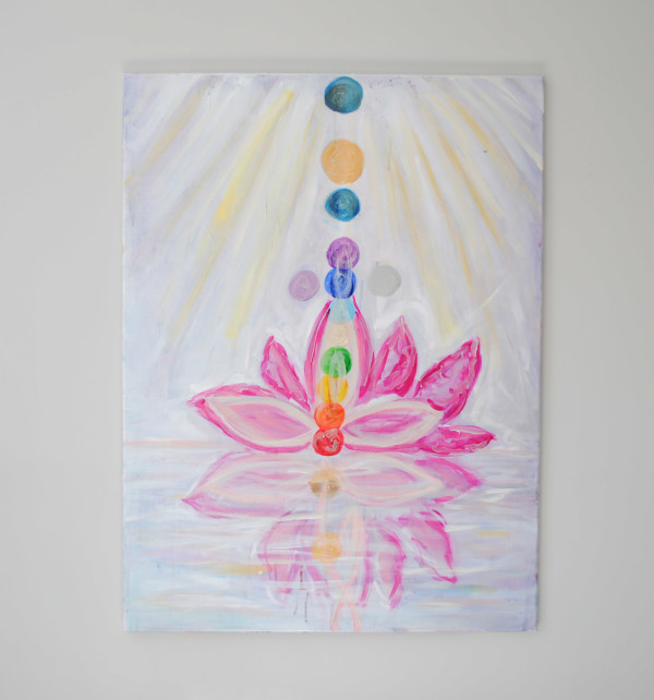 Blooming Lotus by Margaret Fronimos