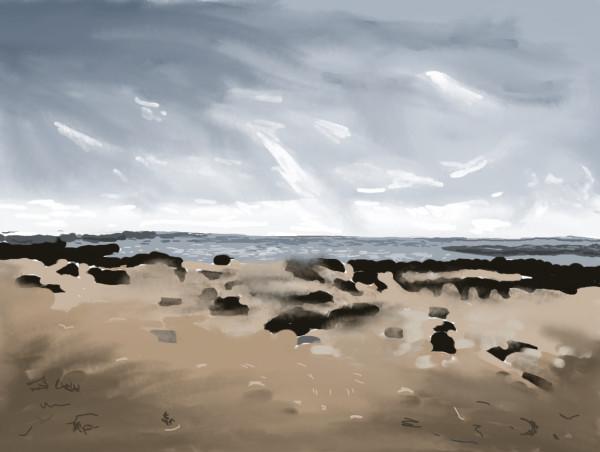 Kildonan Beach by Donald Hargrove