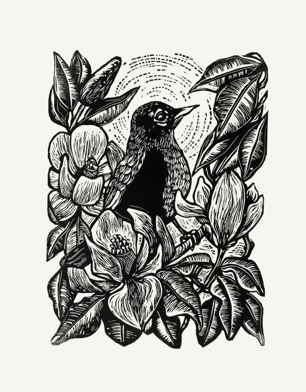 Robin & Magnolia by Carolyn Howse