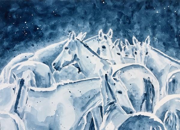 Blue Dream by Monica Cecilie Nilsen