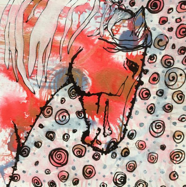 Fairytale horse by Monica Cecilie Nilsen
