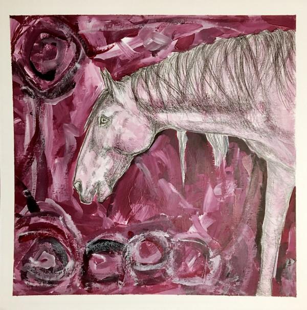Wild Carmine by Monica Cecilie Nilsen