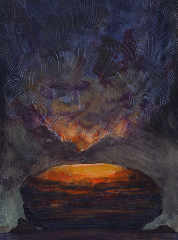 Transmission of Light by Bragino