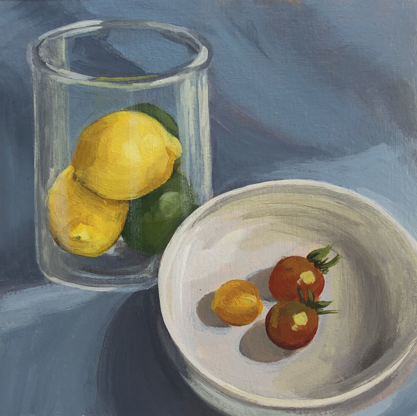 Study-Cherry Tomatoes by Lauren Ruch