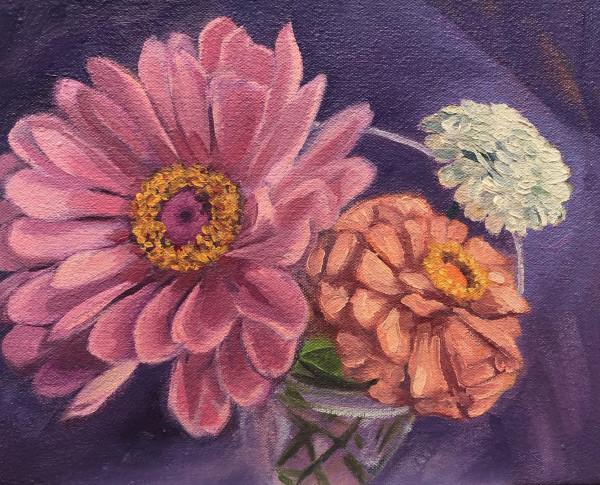 Three flowers by Lauren Ruch
