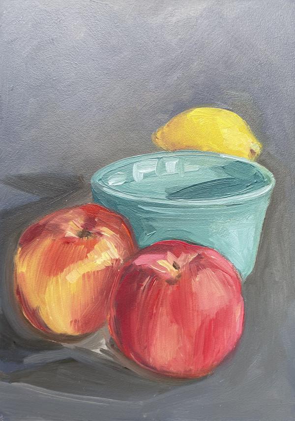Aqua Bowl by Lauren Ruch