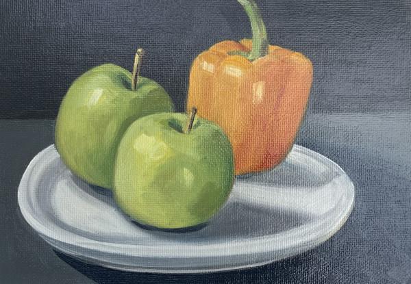 Orange Pepper by Lauren Ruch