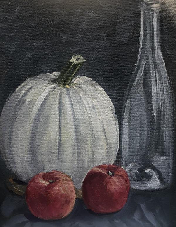 Study-Pumpkin/Apples by Lauren Ruch