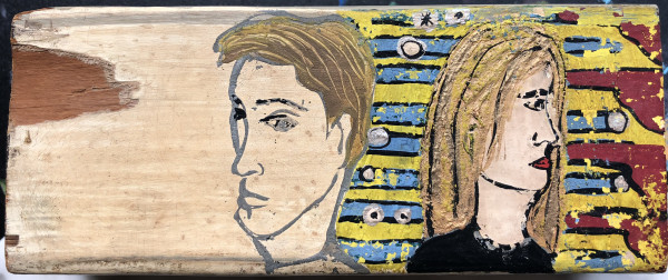 Two on Wood by Lauren Ruch