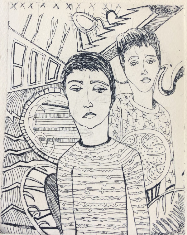 Two People by Lauren Ruch