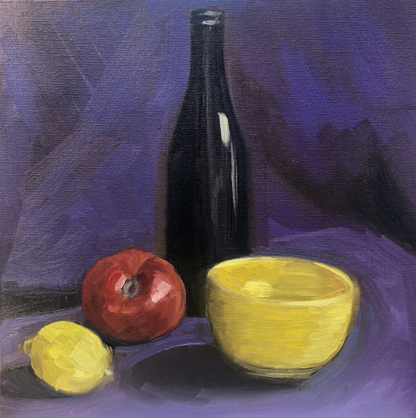 Study-Yellow Bowl by Lauren Ruch