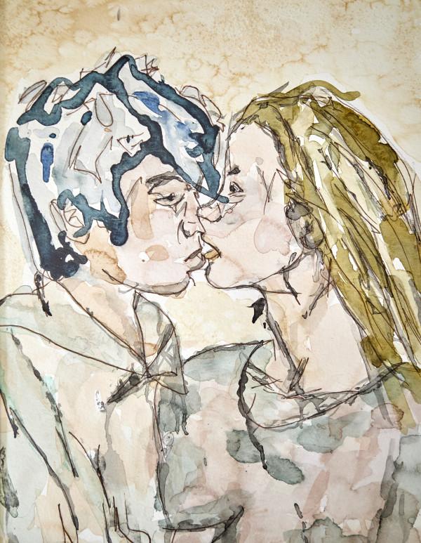 The Kiss by Maku López