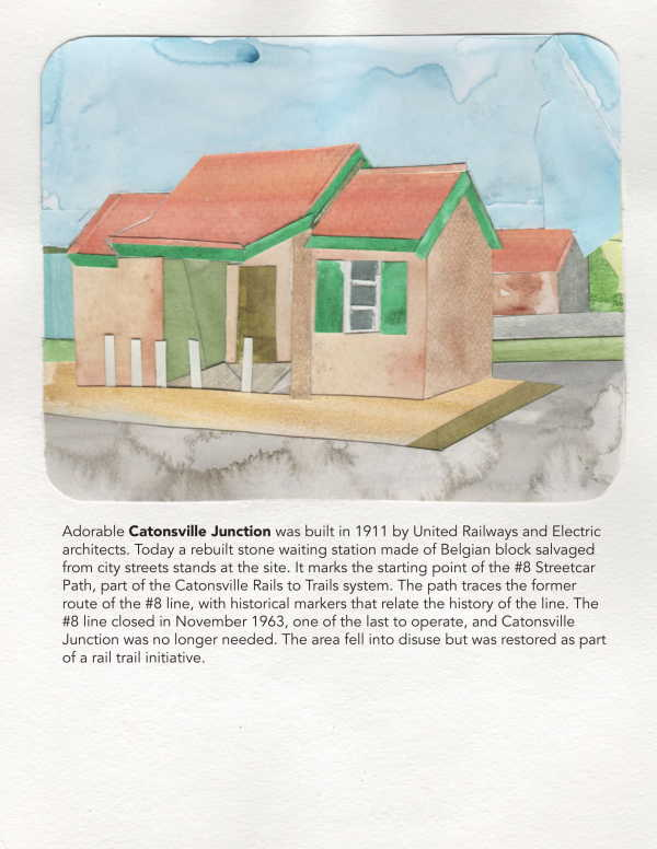 25. Catonsville Junction by Suzy Kopf