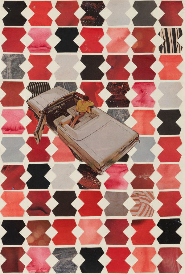 Crimson Chevy by Suzy Kopf