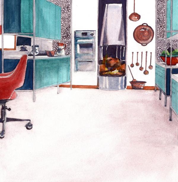 Interior Landscape 5 by Suzy Kopf