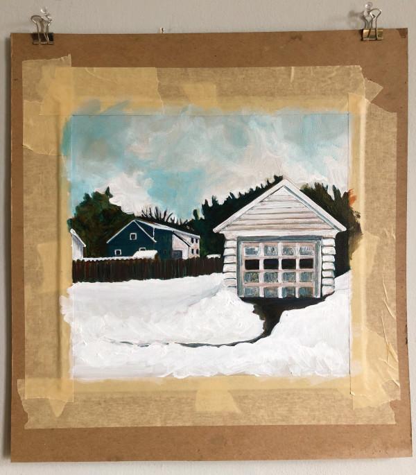 Snow Shed by Suzy Kopf