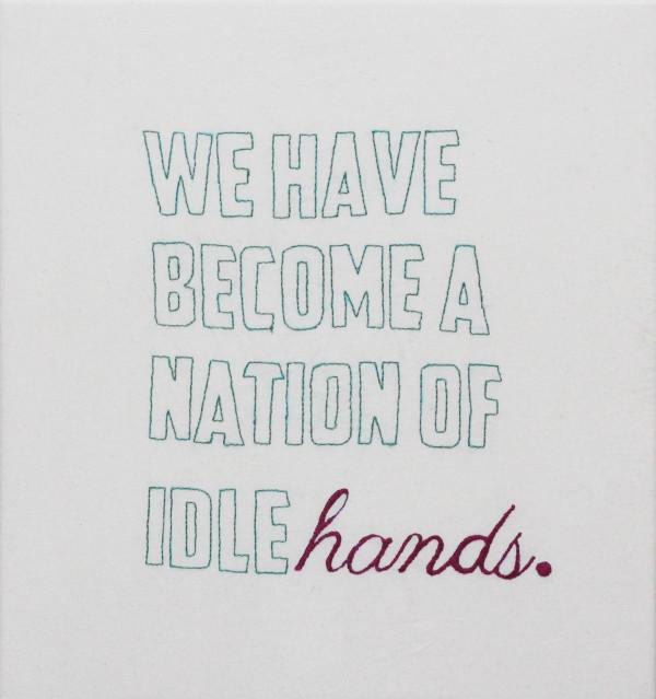 Idle Hands by Suzy Kopf