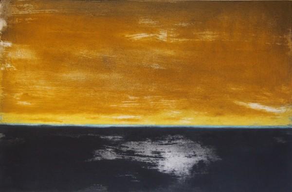 Abstract (gold) by Claudia de Grandi